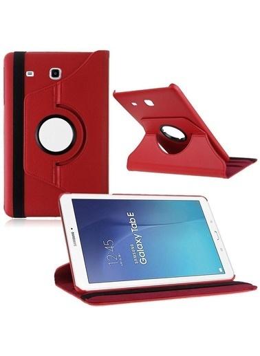 Techmaster Samsung Tab S2 T710 T717 Kılıf Standlı Kırmızı